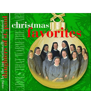 Christmas Favorites by the Daughers of St. Paul CD