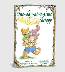 One-Day-At-A-Time Therapy Elf Help Christine A. Adams (Paperback)