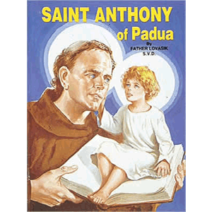 Saint Anthony of Padua <br>Lawrence Lovasik (Paperback)