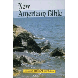 Saint Joseph Personal Size Edition of The New American Bible <br>Catholic Book (Paperback)