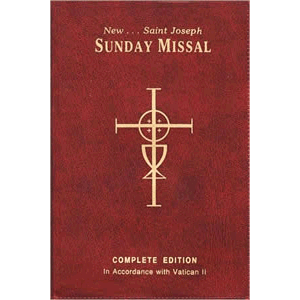 New St. Joseph Sunday Missal <br>Catholic Book Publishing Flex Cover