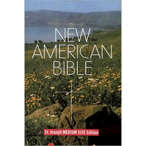 Saint Joseph Student Bible, Medium Size Print Edition - New American Bible <br>Catholic Book (Paperback)