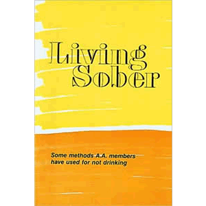 Living Sober <br>A.A. World Services (Paperback)