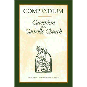 Compendium of the Catechism of the Catholic Church <br>US Catholic Conference (Paperback)