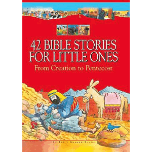 42 Bible Stories for Little Ones: From Creation to Pentecost <br>Su Box, Graham Round (Hardcover)