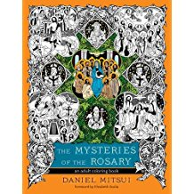 The Mysteries of the Rosary: An Adult Coloring Book Daniel Mitsui (Paperback)