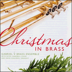 Christmas in Brass by Gabriel V CD