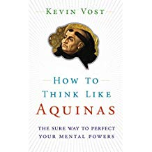 How to Think Like Aquinas: The Sure Way to Perfect Your Mental Powers Kevin Vost (Paperback)