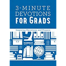 3-Minute Devotions for Grads: Inspiring Devotions & Prayers Barbour Staff (Hardcover)