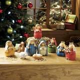 Nativity Set Rounded With 9 Pieces