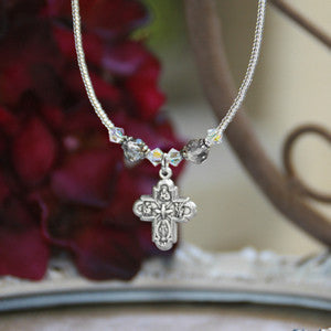 4 Way Cross Necklace