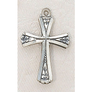 Sterling Silver Pendant Cross