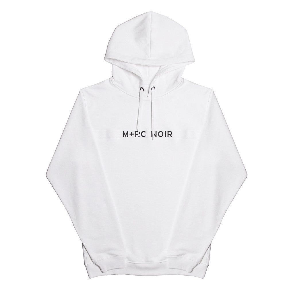 Shop M+RC NOIR White Hoodie Online | OCD Singapore OCDEMPIRE.COM Shipping Worldwide
