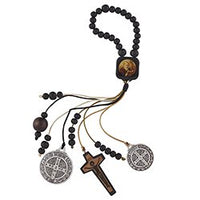 St. Benedict Beaded Home Protection Hanger