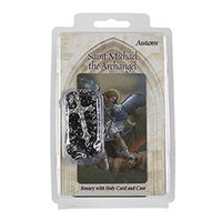 St. Michael Archangel Rosary with case