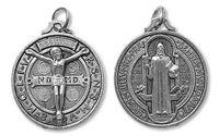 St. Benedict Medal with Crucified Christ