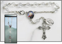 St. Christopher Rear View Mirror Rosary