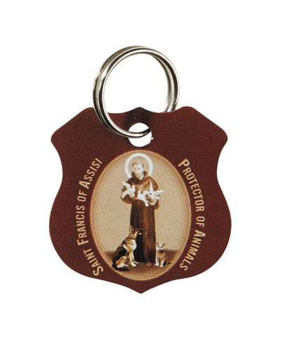 St. Francis Pet Collar Medal