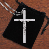 Silver Clergy Crucifix (LIMITED TIME!!! NO LONGER MADE)