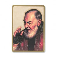 St. Padre Pio Desk Stand Icon