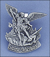 St. Michael Sun Visor Clip for the Car