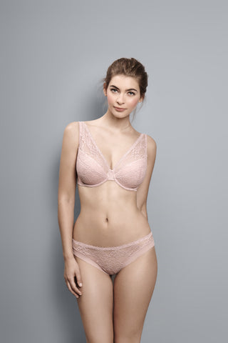 Bridal - Blush - V Neck Plunge Bra
