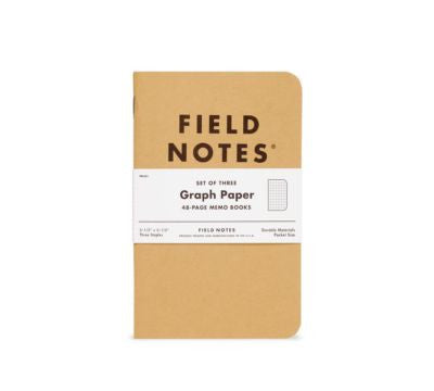 Field Notes Original Kraft Memo Book - Graph