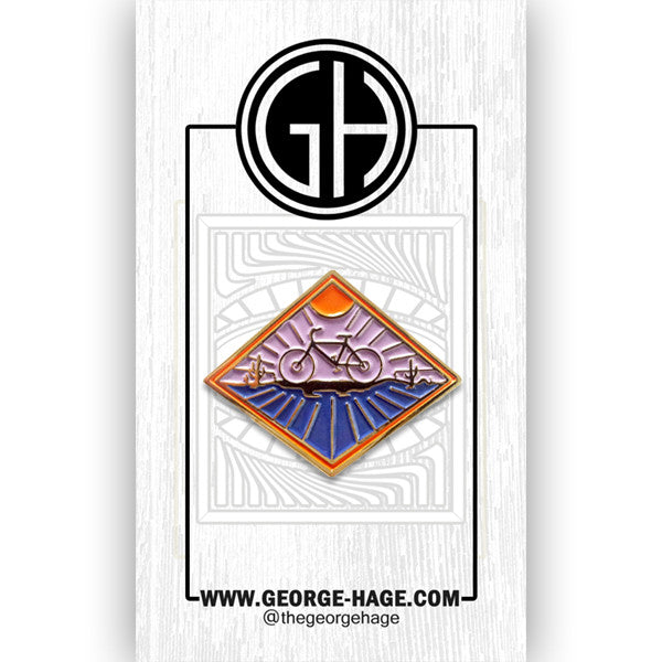 George Hage Ride Pin
