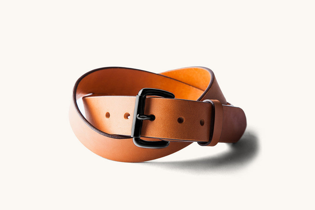 Tanner Goods Standard Belt - Saddle Tan/Black