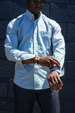 Lumen Button Down: Long Sleeve