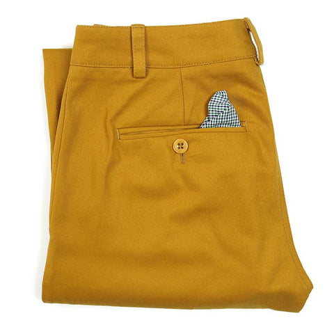 The Chadbourn Twill Chino - Golden Yellow