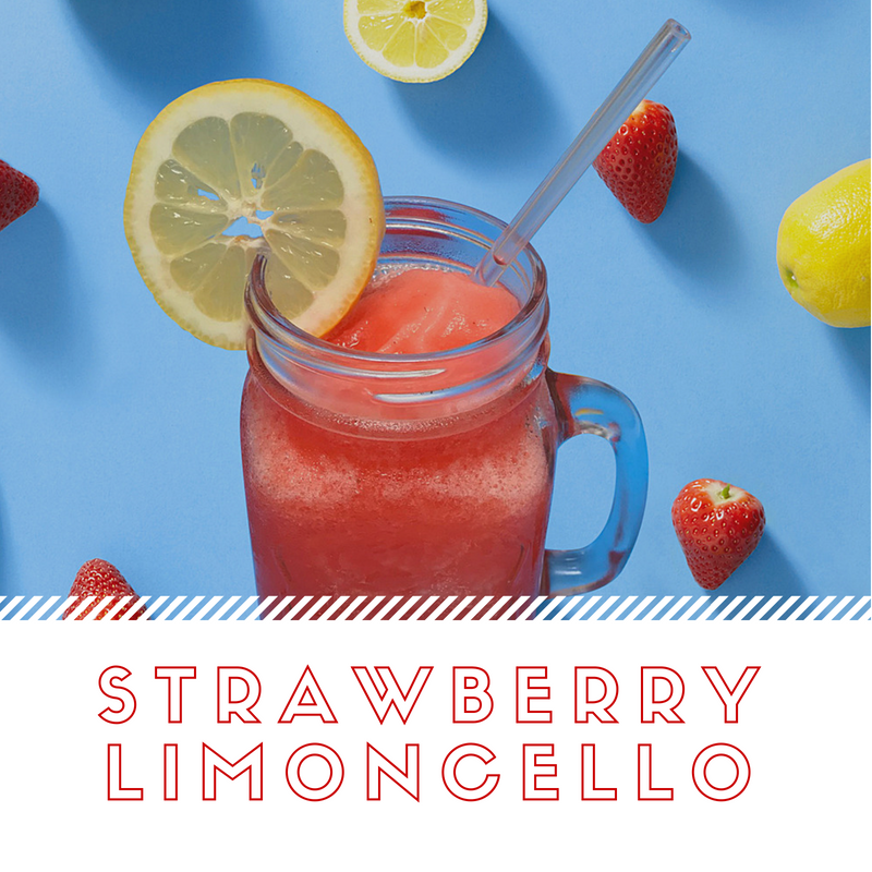 Strawberry Limoncello Slush