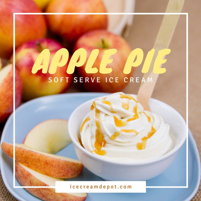 Apple Pie Soft Serve Ice Cream Recipe