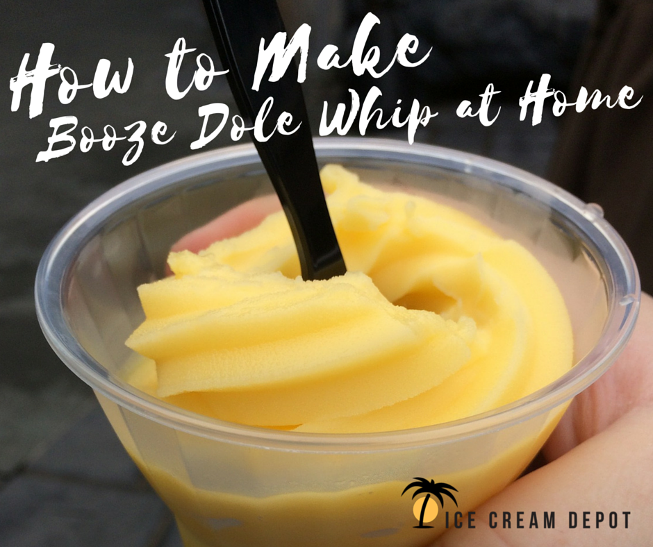 How to Make Booze Dole Whip at Home