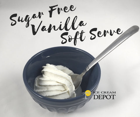 Sugar Free Vanilla Soft Serve Ice Cream