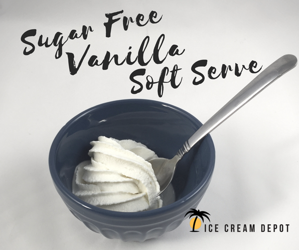 Sugar Free Vanilla Soft Serve