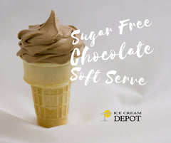 Sugar-Free Chocolate Soft Serve