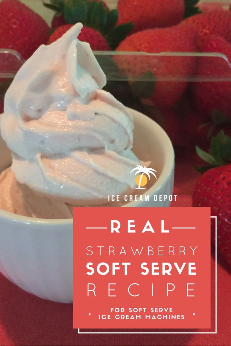 Strawberry Soft Serve Ice Cream Recipe