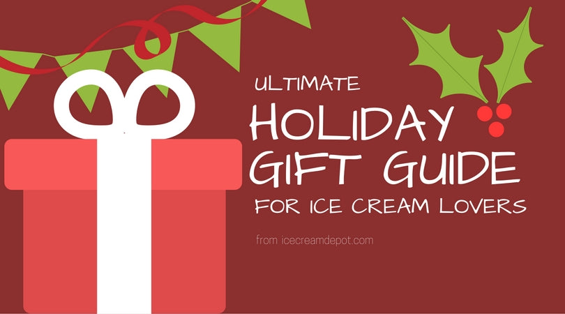 holiday gift guide for ice cream lovers