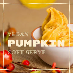 Vegan Pumpkin Soft Serve