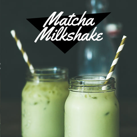 matcha milkshake recipe for ice cream maker