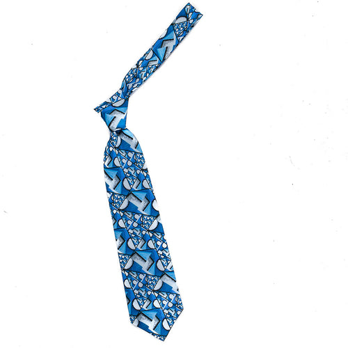 Tie Chagall Blue