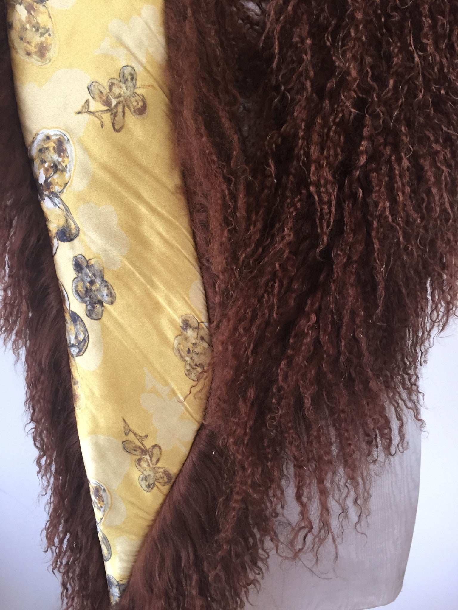 Wear-3-Ways Shawl Chestnut