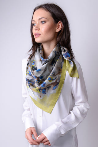 Mongolian Wear-3-Ways Shawl Riverside
