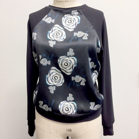 HCT Silk Sweatshirt Cobalt - small and large only!