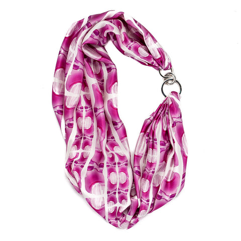 Buddha Headress Neckerchief - Pink