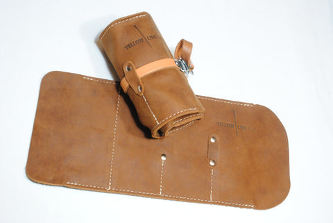 Classic Leather Tool Roll - Mechanic Edition