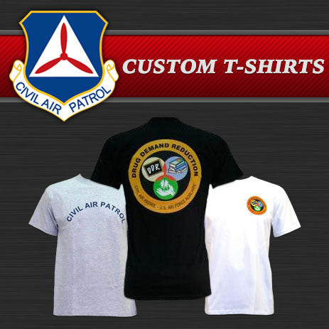 civil air patrol custom t shirts vanguard