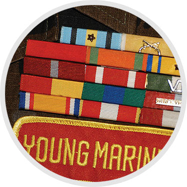 Young Marines wax seal