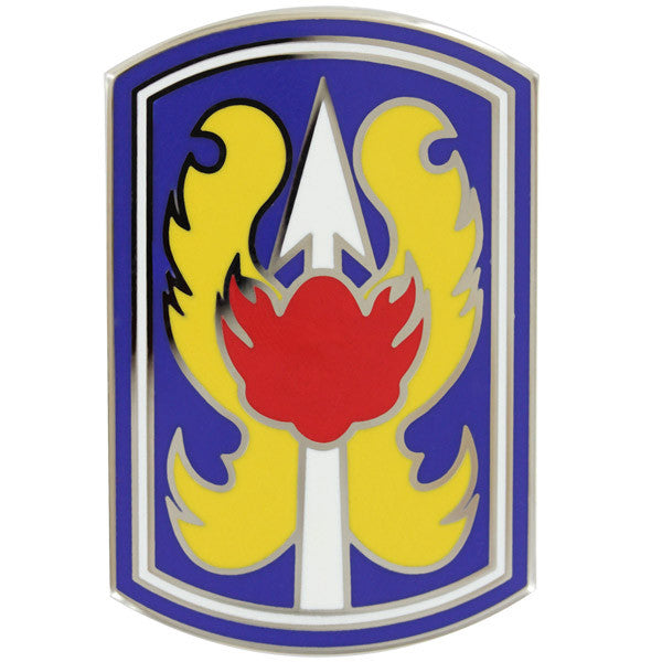 Army Combat Service Identification Badge (CSIB):  199th Infantry Brigade